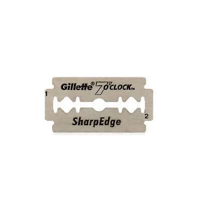 Barber Straight Cut Throat Shavette Gillette  Blades Razors 7 o'clock blades New
