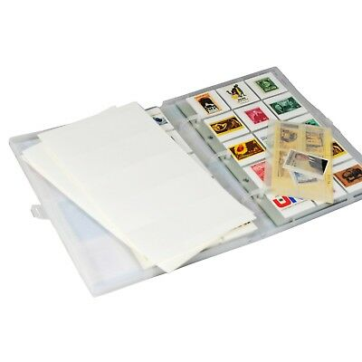 Stamp Collection Kit/Album, w/ 10 Pages, Holds 150-300 Stamps (No Stamps) 2