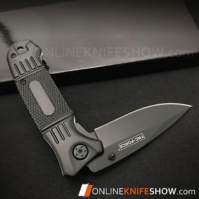 """7.75"""" TAC-FORCE SPRING ASSISTED TACTICAL FOLDING POCKET KNIFE Blade Open Assist 2"""