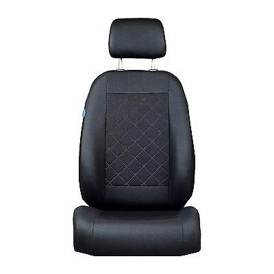 Schwarze Sitzbezüge für Alle FORD Autos Autositzbezug VORNE