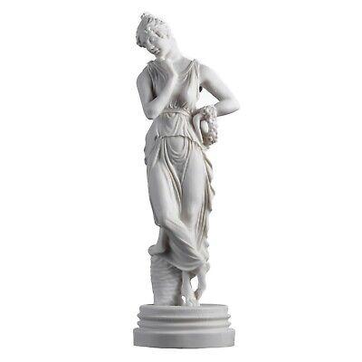 "Persephone Goddess Of The Underworld Springtime Flowers&Vegetation Statue 11.8"" 3"