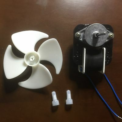 GE Whirlpool, Amana, Maytag Fridge Fan motor with Blade large size fridge 0532 2