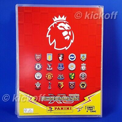 Panini Adrenalyn XL 2019-2020: Starter Pack. Binder and 26 cards. Premier League 3