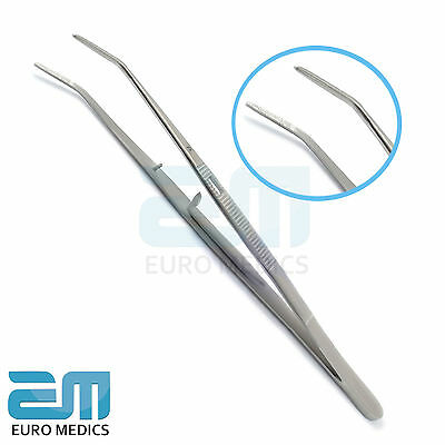 Set Of 5 Dental Self Locking Tweezer Haemostatic Endodontic Tissue Forceps