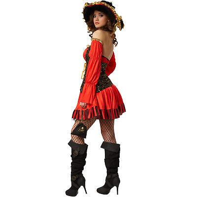 ... Costume Pirata Piratessa Corsara Bucaniera Carnevale Donna  Travestimento Sexy n 3 7d205af212bf