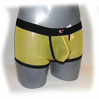 WJ - Pants Transparent Rot Size M - extra heiß -  (562) 5