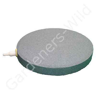 "AIR STONE 6"" 15cm (x6) HAILEA large round ceramic airstone hydroponic pond koi 2"