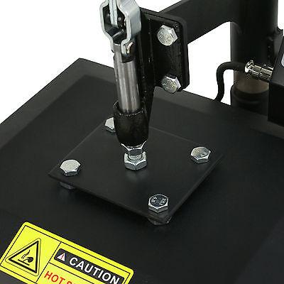 "New 12"" X 10"" CLAMSHELL HEAT PRESS T-SHIRT Digital TRANSFER SUBLIMATION MACHINE 5"