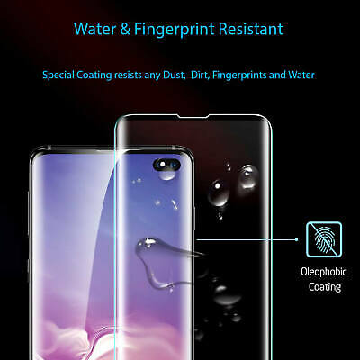 For Samsung Galaxy Curved 3D Tempered Glass Full Screen Protector S10 Plus S10e 10