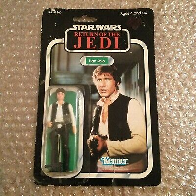 Star Wars Vintage Kenner 1983 Han Solo Return Of The Jedi Mint ON SALE! 2