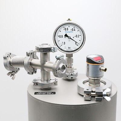 Vakuumbehälter Edelstahl Ø270 x 315mm 2
