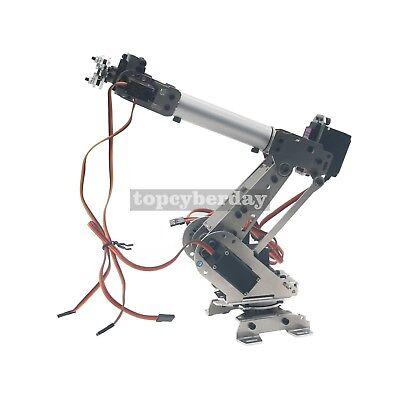 6-Axis S6 Industrial Mechanical Robot Arm Steel Metal Robotic Manipulator DIY UK 2