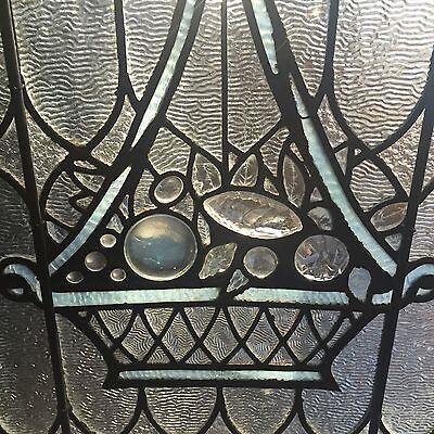 Impressive jeweled stained glass window 2