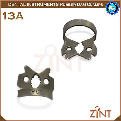 Rubber Dam Universal Clamps Upper & Lower Premolar Anterior Medesy Basic Set New 7