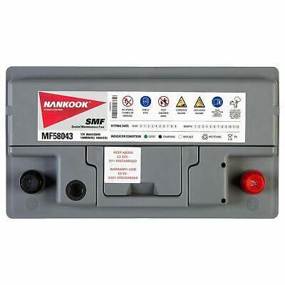 Hankook 58043 Batterie de Démarrage Pour Voiture 12V 80Ah - 315 x 174 x 190mm 3