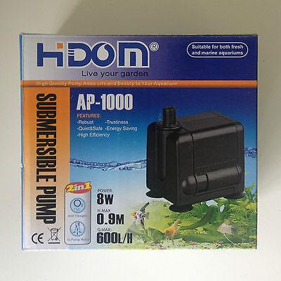 600l/h Water Pump for Aquarium Fish Tank Powerhead Water Feature 2