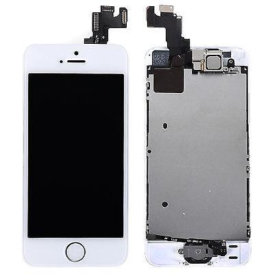 Vitre Tactile + Ecran Lcd Complet  Iphone 5/ 5C / 5S 5 Se Noir/Blanc + Outils 8