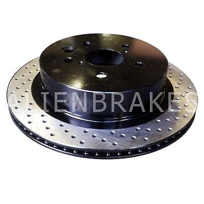 LEX007DO GS350 GS430 GS450h GS460 IS350 2WD Performance Brake Rotor Drill Only