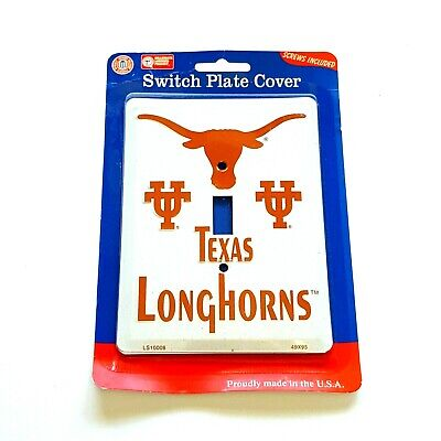 Single Light Switch Plate Covers Texas Longhorns Themed Collegiate Products 2