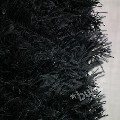 4 PLY FEATHER YARN 500g CONE 10 BALLS YELLOW EYELASH FUR FURRY /& FUNKY NEW SOFT