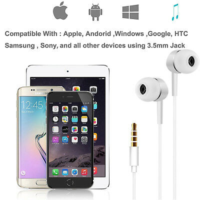 Gold Earbuds Headphones with Mic and Remote for iPhone 6s 6 6Plus 5s 5c 4s iPod 10