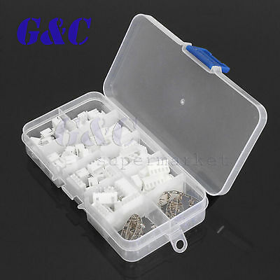 40 Sets JST 2~5Pin 2.5mm XH Male Female Housing Connector with Crimps Kit 4