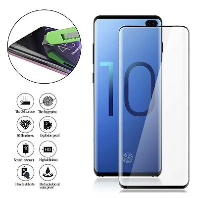 Samsung Galaxy S10 S10e S10 Plus Tempered Glass Screen Protector Film 5D Curve 6