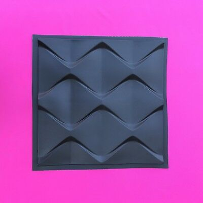 Sculpting, Molding & Ceramics *dune* 3d Decorative Wall Panels 1 Pcs Abs Plastic Mold For Plaster