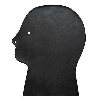 Brand New Black Latex Rubber Gummi Hood Mask (one size) 6