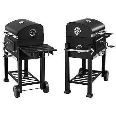 BBQ Griglia a carbonella barbecue giardino legna affumicatoio 115x65x107 10