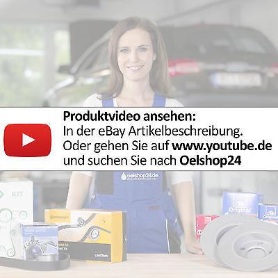 ATE Bremsenset VORNE 2 Bremsscheiben Ø280mm + Bremsbeläge VW GOLF 5/6 V VI MH 5