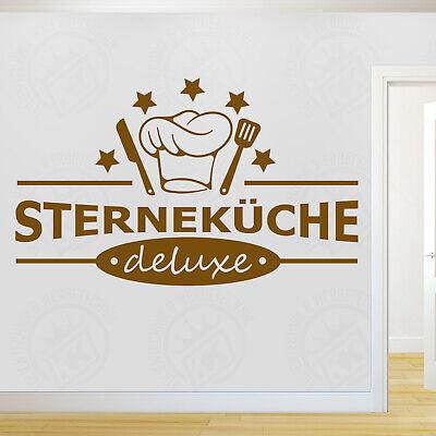 Wandtattoo Wandaufkleber Sternekuche Deluxe Sterne Koch Turaufkleber Kuche Eur 14 90 Picclick De