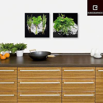 GLASBILDER DEKO WAND Bild Deco Float Glas Bild Frucht Obst Gemüse ...