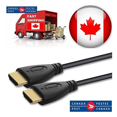 10ft 15ft 25ft 30ft 50ft High Speed HDMI Cable 1.4 Cable Audio/Video Gold-Plated 2