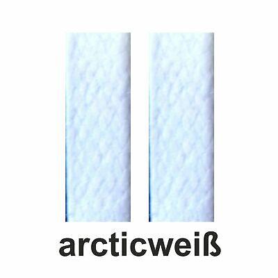 edle flache gewachste Schnürsenkel, waxed laces 75-130 cm lang  ca.5 mm breit 4