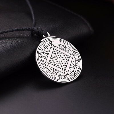 Ancient Amulet Key of Solomon Ultimate Love Pendant Gift Necklace for Women Men 6