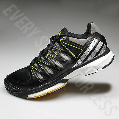 Adidas Volley Response 2 Volleyball Sneakers Black Sliver AF5235 Women Size 8 | eBay