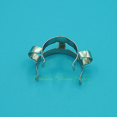 50Pcs 24#,Metal Clip,Keck Clamp,24/29 or 24/40 Glass Ground Joint 3