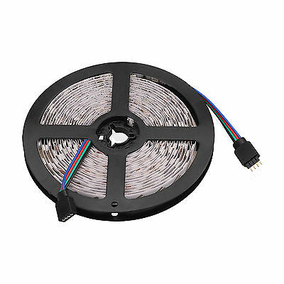1-30M SMD 5050 RGB LED Strip Light Flexible Lighting 12V IR Controller Adapter 3