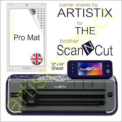 Scan N Cut Artistix Pro Cutting Mat Carrier Sheet Scanncut 12 x 24 Brother