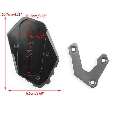 Seitenständer Verlängerungs Pad Plate Extension Für BMW R1200GS LC 13-15 TI T4