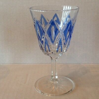 Vintage Stemware Cordial Glass Diamond coloured EACH SOLD SEPARATELY 6
