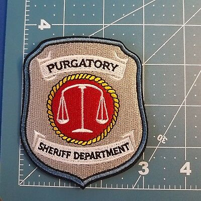 Wynonna Earp Purgatory Patch 3 inches wide 3 1/2 inches tall 4