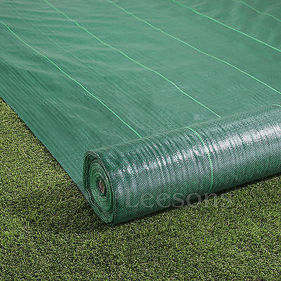 2m x 25m green weed control fabric garden landscape ground cover membrane paths
