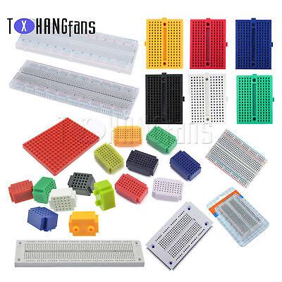 25/55/170/270/400/700/830 Mini Colorful Breadboard Prototype Develop Plates ATF 3