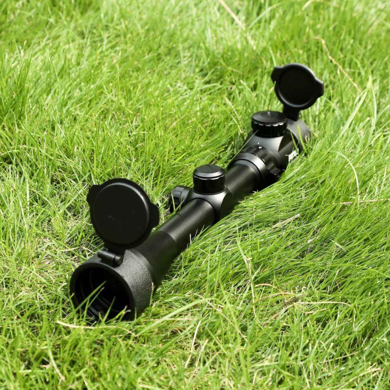 Rifle Scope Mil-Dot Illuminated Red & Green 3-9X40 E Optics Hunting Air Sniper 3