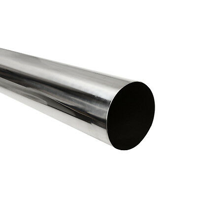 "Exhaust Pipe Tubing OD 3.5/"" 89mm 4FT Tube Piping Stainless Steel T-304 Straight"