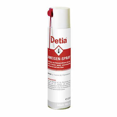 Ameisenspray 3x 400 ml Ameisen Bekämpfung Spray Ameisengift Pyrethrum Detia 2