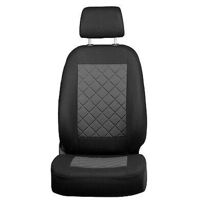 Schwarz Sitzbezüge für AUDI TT Autositzbezug VORNE