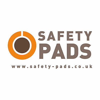 Safety-Pads® PVC Foam Padding Square Protective Post Protectors All Post Sizes